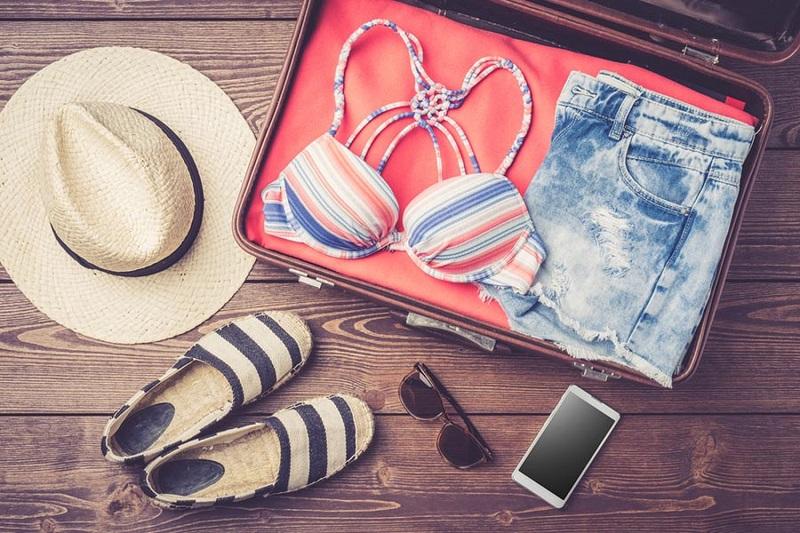 Acessórios para levar em uma mala para Cancún