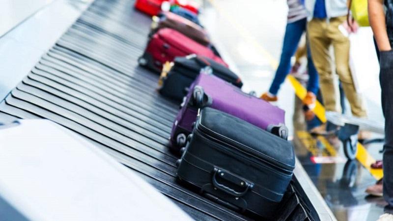 Peso para a bagagem e mala de mão para Cancún