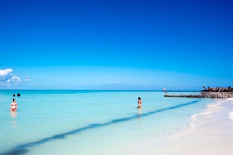 Playa Norte para curtir em Cancún