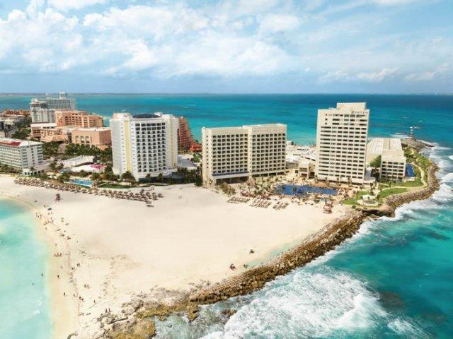 Praia Punta Cancún em Cancún