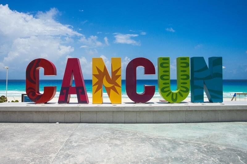 Cancún em abril