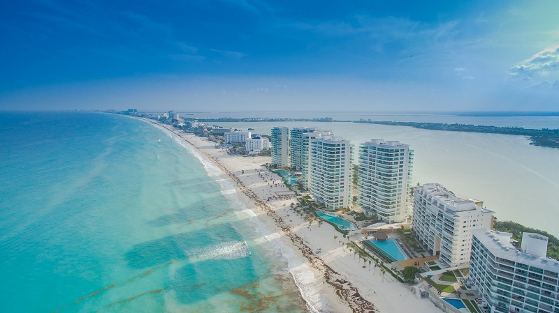 Cancún em dezembro
