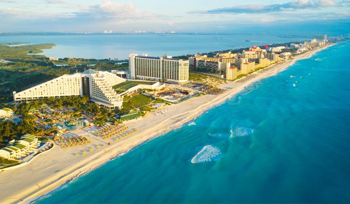Cancún em julho