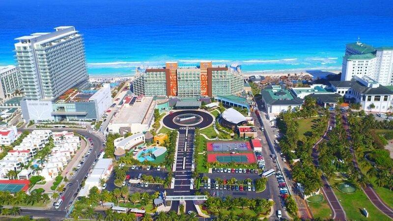 Movimentação de turistas e hospedagens no mês de maio em Cancún