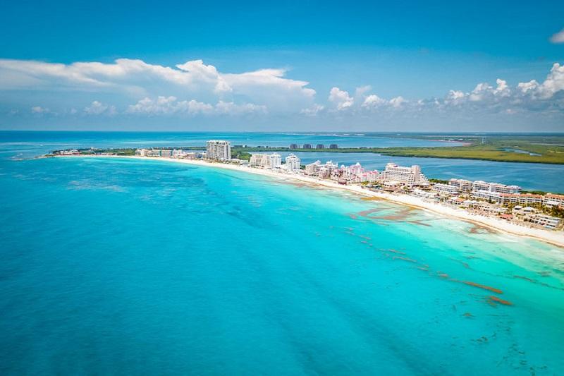 Movimentação de turistas e hospedagens no mês de setembro em Cancún