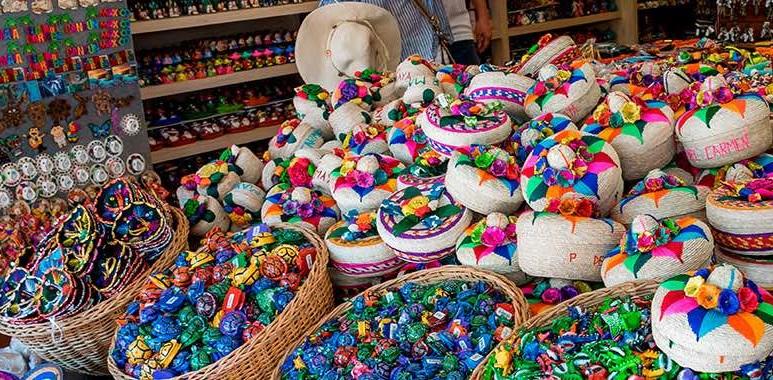 Compras no mês de agosto em Cancún