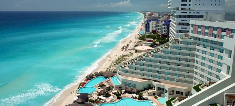 Movimentação de turistas e hospedagens no mês de novembro em Cancún