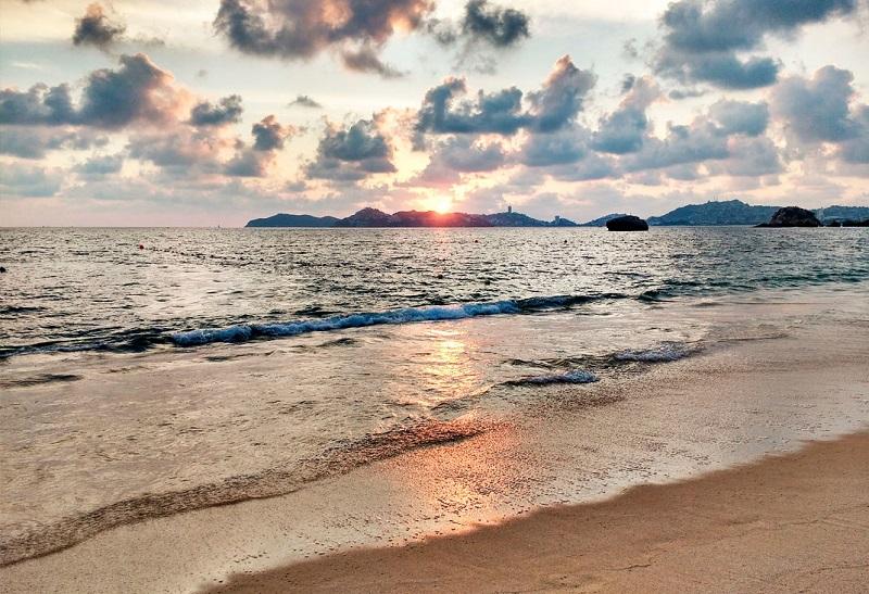 Sobre a Icacos Beach em Acapulco