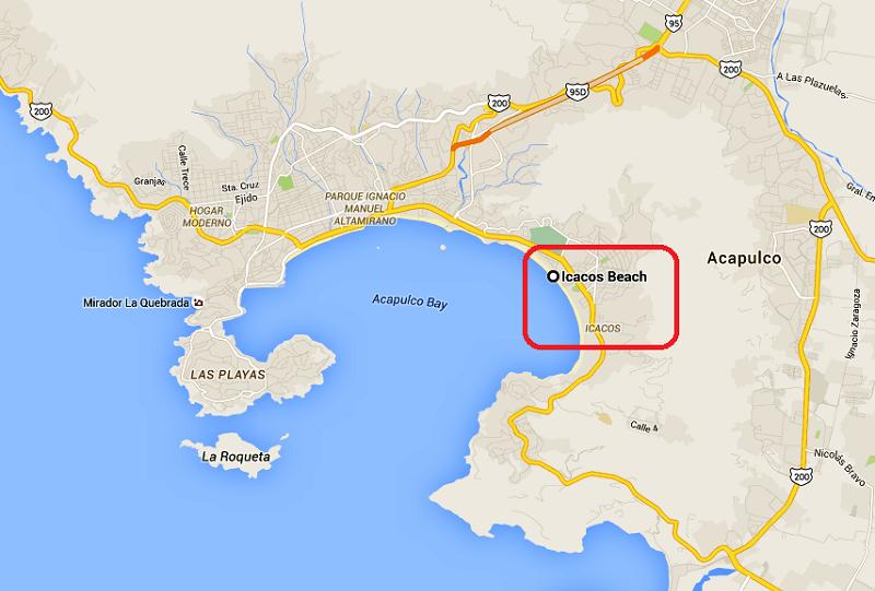 Informações e dicas da Icacos Beach em Acapulco