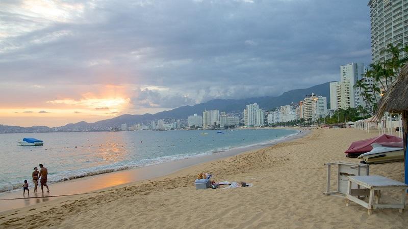 Lazer e entretenimento na Icacos Beach em Acapulco