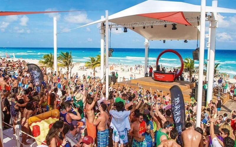 Spring Break em Cancún