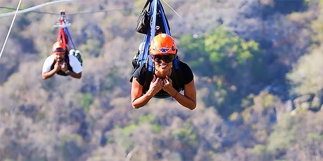 Xtasea Tirolesa para curtir em Acapulco
