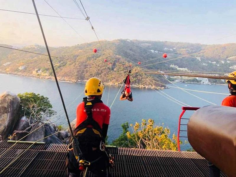 Dicas sobre a Xtasea Tirolesa em Acapulco