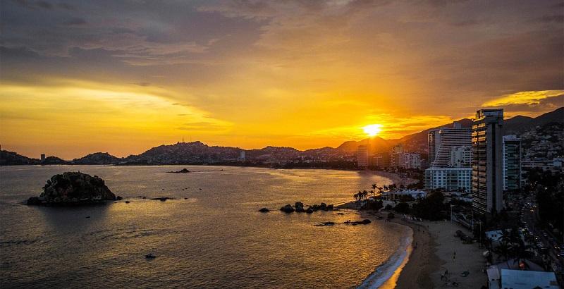 Praias para curtir a tarde no Ano Novo em Acapulco