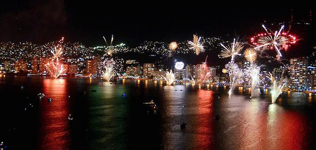 Ano Novo em Acapulco