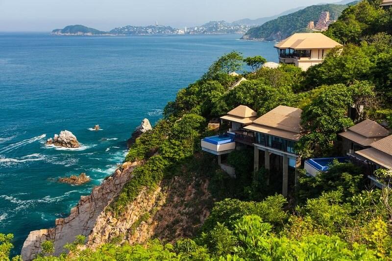 Hotel de luxo Banyan Tree Cabo Marques em Acapulco