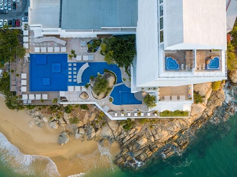 Hotel de luxo Fiesta Americana Acapulco Villas em Acapulco