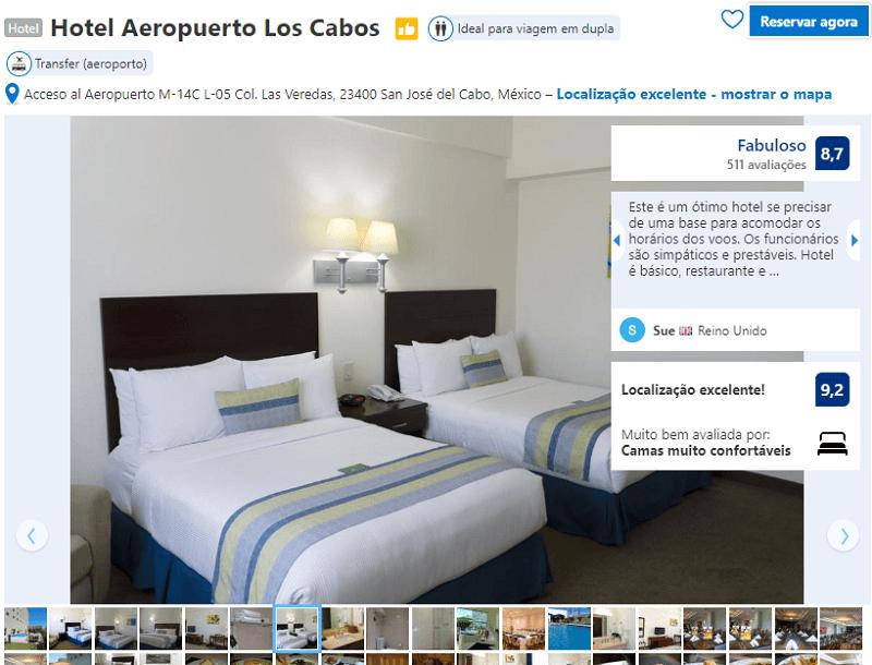 Quarto do Hotel Aeropuerto Los Cabos em San José