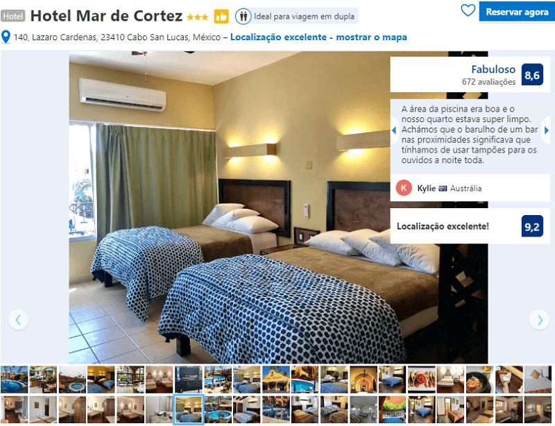 Quarto do Hotel Mar de Cortez em Los Cabos em Cabo San Lucas
