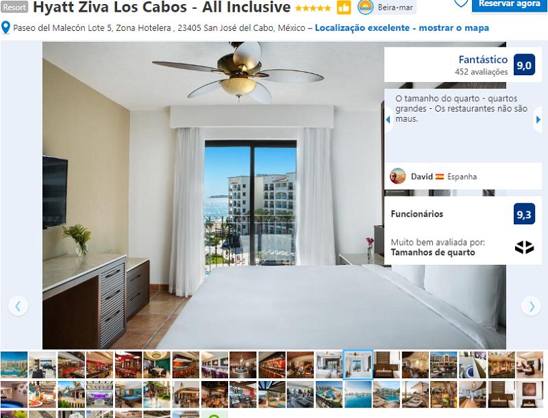 Quarto do Hotel Hyatt Ziva Los Cabos - All Inclusive em San José del Cabo