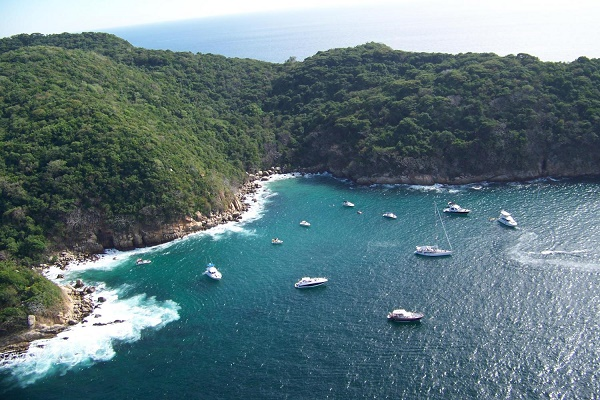Atividades na Ilha da Roqueta em Acapulco