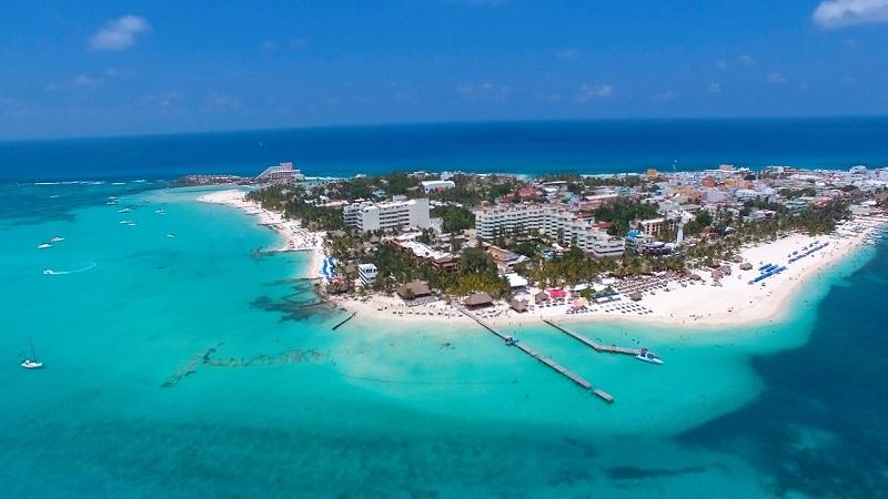 Isla Mujeres no México