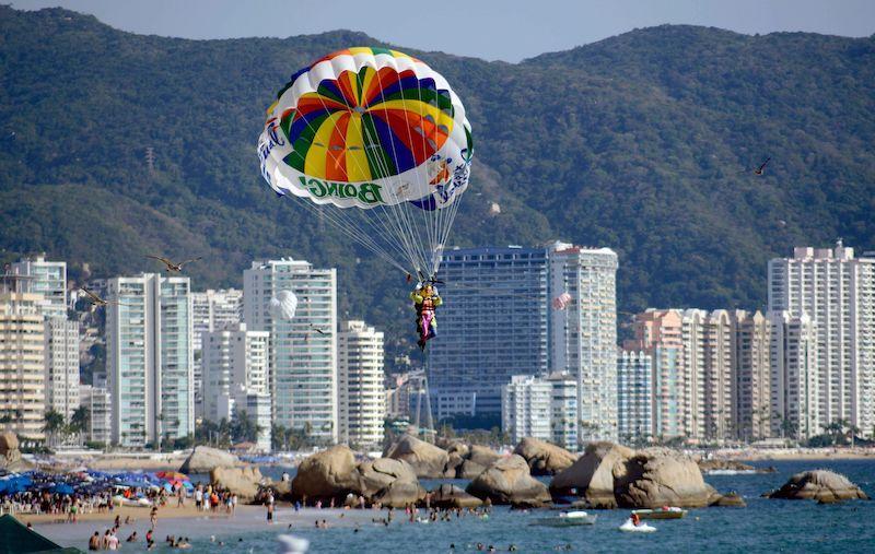 Clima no Ano Novo em Acapulco