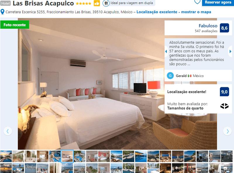 Las Brisas em Acapulco