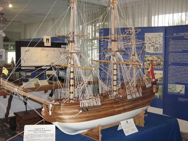Museu Histórico Naval em Acapulco