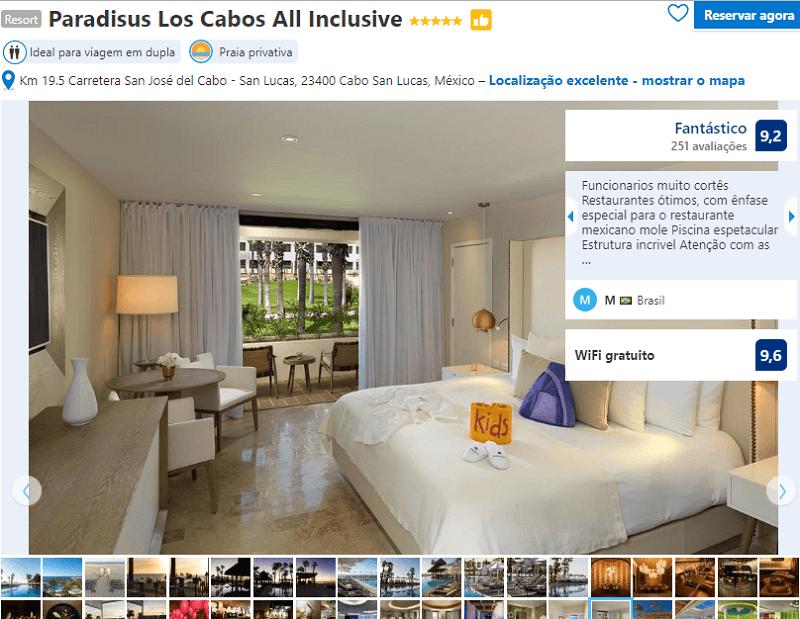 Quarto do Hotel Paradisus Los Cabos All Inclusive em Los Cabos em Cabo San Lucas