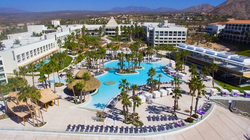 Fachada do Hotel Paradisus Los Cabos All Inclusive em Los Cabos em Cabo San Lucas