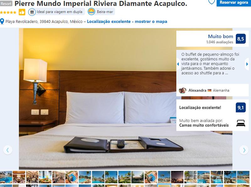 Resort Pierre Mundo Imperial Riviera Diamante Acapulco
