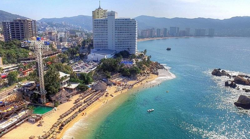 Playa La Condesa em Acapulco
