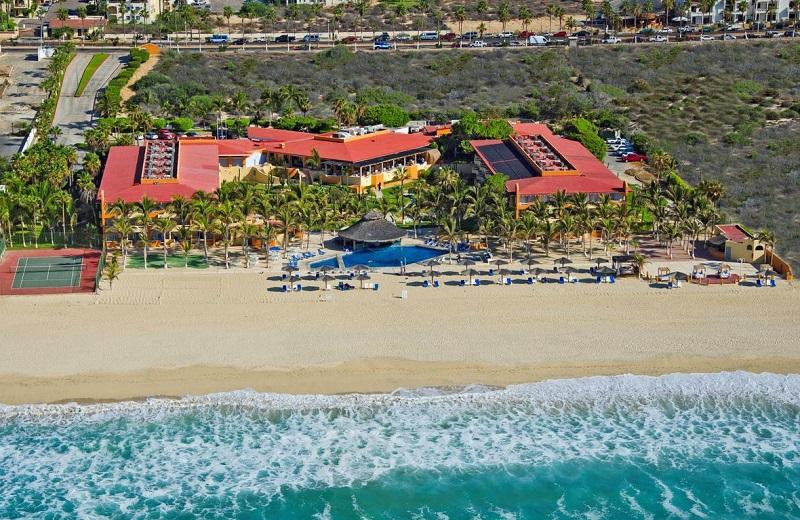 Fachada do Hotel Posada Real Los Cabos em San José