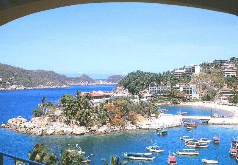 Praia Caletilla em Acapulco