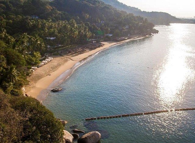 Praia Pichilingue em Acapulco