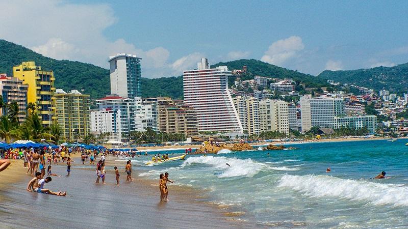 Região dos hotéis de Acapulco