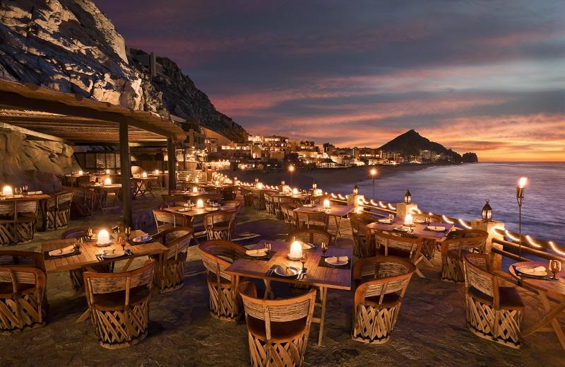 Restaurante El Farrallon em Los Cabos