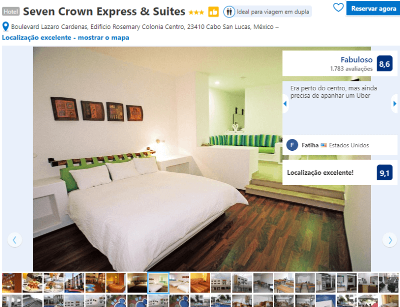 Quarto do Hotel Seven Crown Express & Suites em Los Cabos em Cabo San Lucas