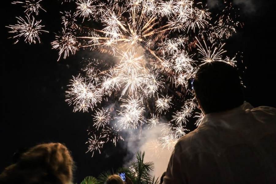 Tradições no Ano Novo em Acapulco
