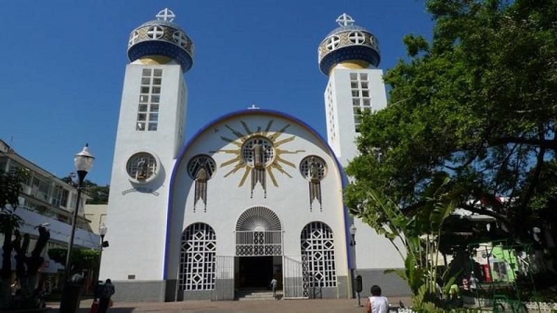 Catedral em Zócalo em Acapulco