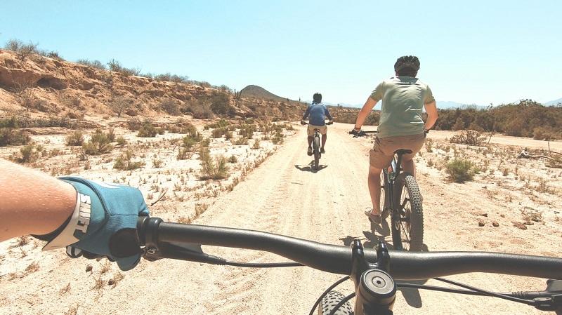 Bicicleta para se locomover em Los Cabos