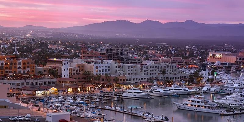 Cidade Cabo San Lucas em Los Cabos