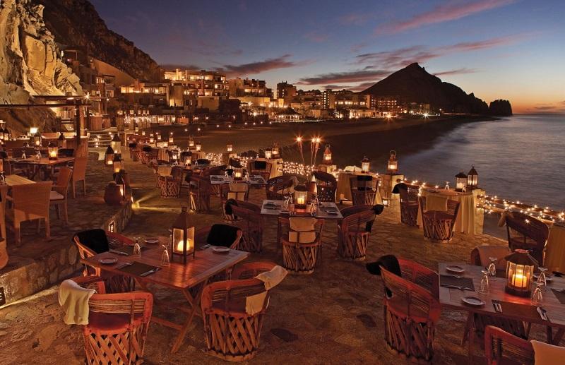 Restaurante El Farallon em Cabo San Lucas