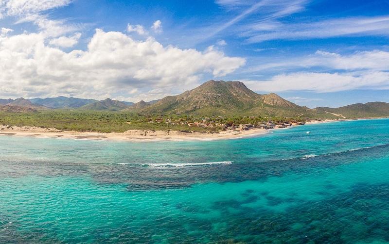Área do Parque Nacional Marinho Cabo Pulmo em Los Cabos