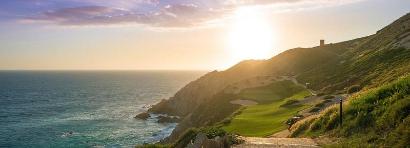 Golfe no verão em Los Cabos