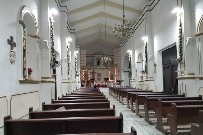 Área interna da Missão Jesuítica em Los Cabos