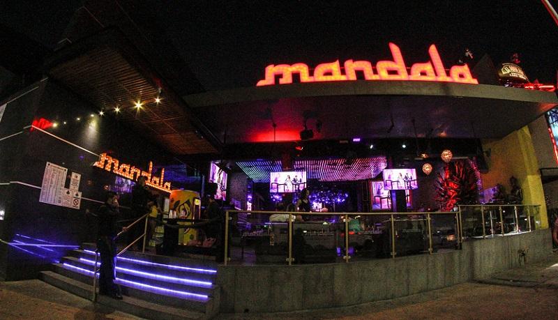 Estrutura da balada Mandala em Los Cabos