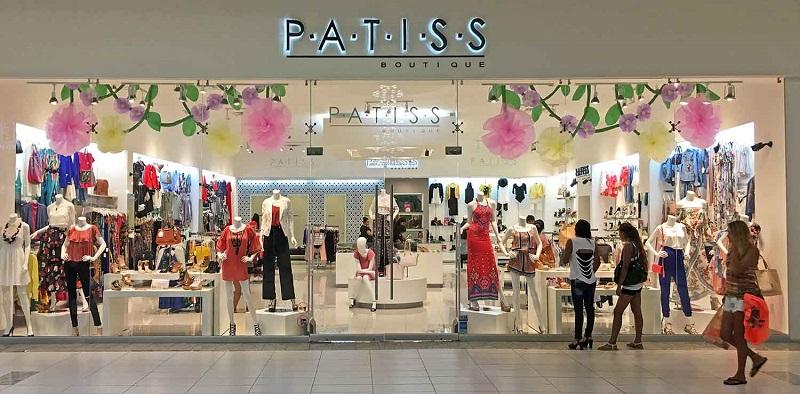 Loja P-A-T-I-S-S para compras de sapatos no Shopping Puerto Paraiso Mall em Los Cabos