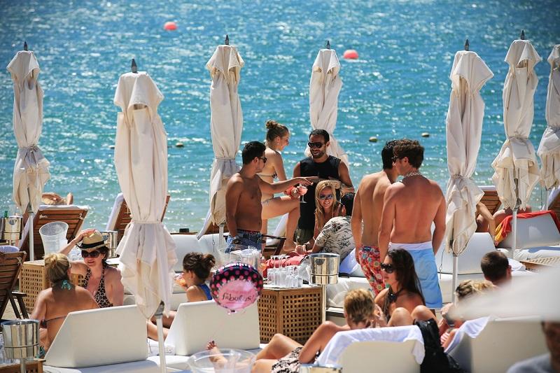 Animação no Blue Marlin Ibiza Los Cabos